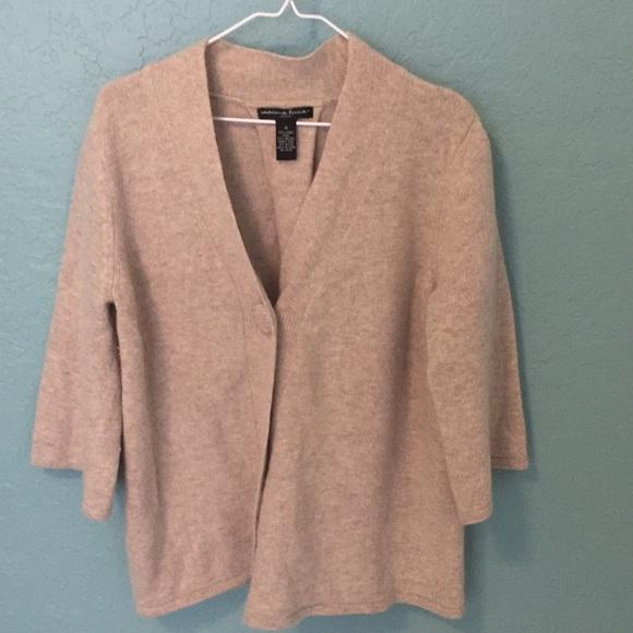 Marina Luna Sweaters - Marina Luna lamb angora blend sweater cardigan 1X